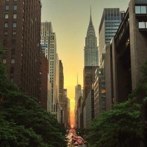 New York amanece