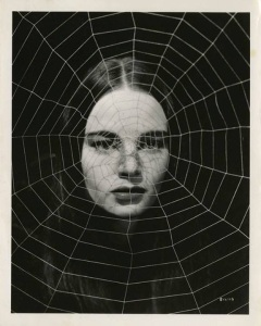 La mujer araña