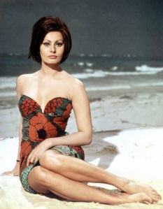 Sofia Loren y el Mar
