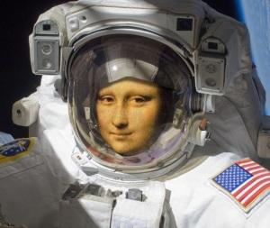 Monalisa Astronauta