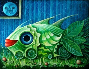 Pez vegetal (pintura)
