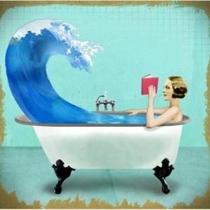 Leer en la bañera