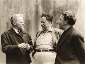 Leon Trotsky, Diego Rivera, Andre Breton