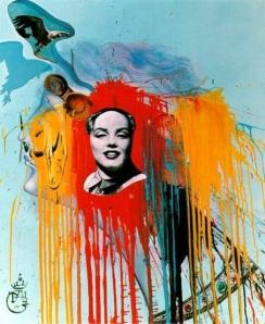 Salvador Dali-Marilyn-Mao (pintura)
